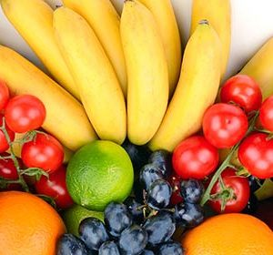081 Овощи, фрукты. Фартук для кухни МДФ. 2,8 метра