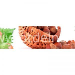 106 Овощи, орехи. Фартук для кухни МДФ. 2,8 метра