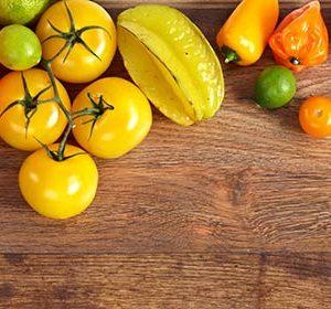127 Овощи, фрукты. Фартук для кухни МДФ. 2,8 метра