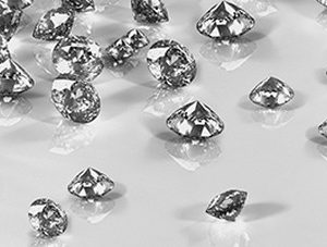 194 Бриллианты. Фартук для кухни МДФ. 2,8 метра