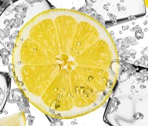2954 Лимоны. Фартук для кухни МДФ. 2,8 метра