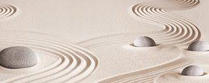 679 Камни, песок. Фартук для кухни МДФ. 2,8 метра