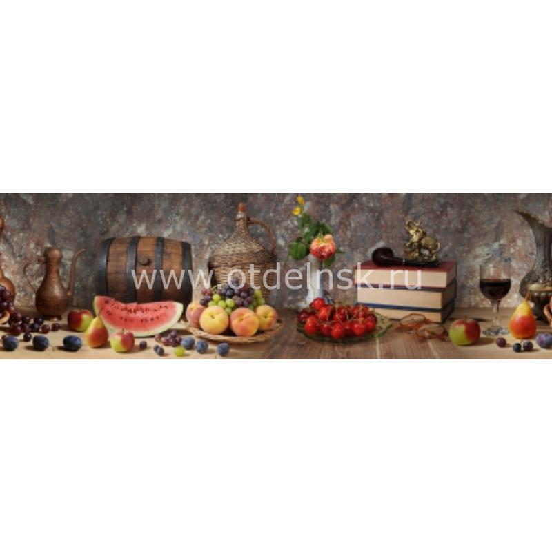 Осенний натюрморт. Фартук для кухни пластиковый. 3 метра
