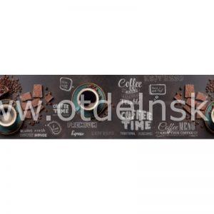 Время кофе. Фартук для кухни пластиковый. 3 метра