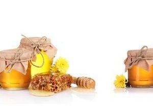 0255 Еда, мёд. Фартук для кухни МДФ. 2,8 метра
