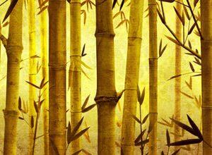 1548 Бамбук. Фартук для кухни МДФ. 2,8 метра