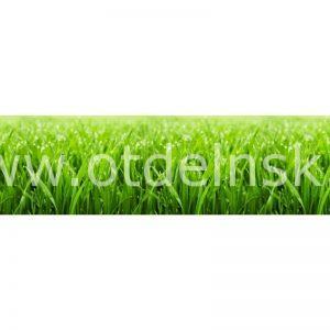 2823 Трава. Фартук для кухни МДФ. 2,8 метра