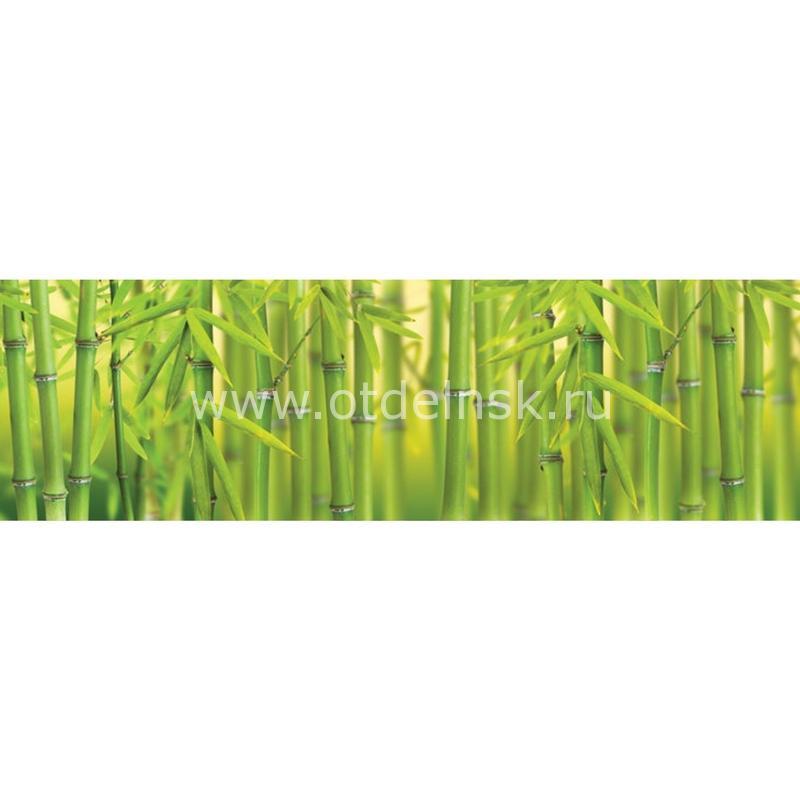 3101 Бамбук. Фартук для кухни МДФ. 2,8 метра