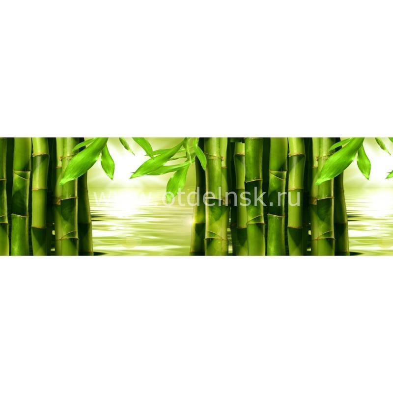 5083 Бамбук. Фартук для кухни МДФ. 2,8 метра