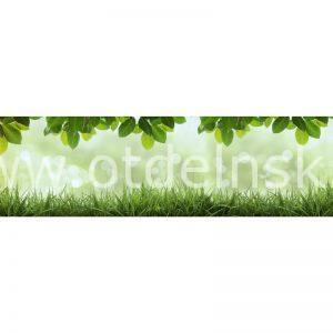 5166 Трава. Фартук для кухни МДФ. 2,8 метра