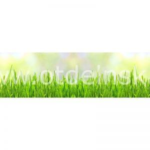 6321 Трава. Фартук для кухни МДФ. 2,8 метра