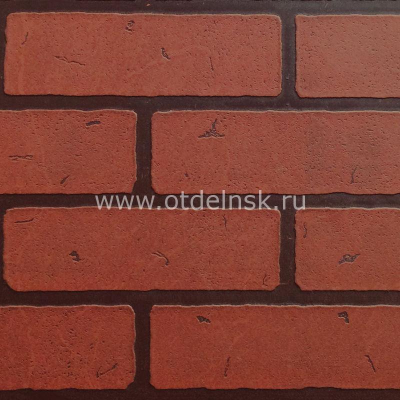 "Листовая панель МДФ 41245 ""Кирпич Красный"" 1220х2440х6 мм"