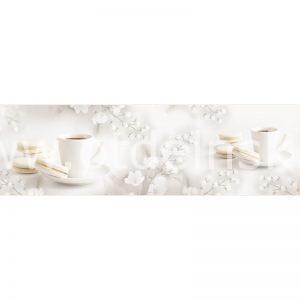 AG 113 Чайная церемония. Фартук для кухни МДФ. 2440х610. Толщина 4 мм