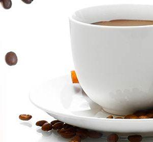 AG 69 Чашка кофе. Фартук для кухни МДФ. 2440х610. Толщина 4 мм