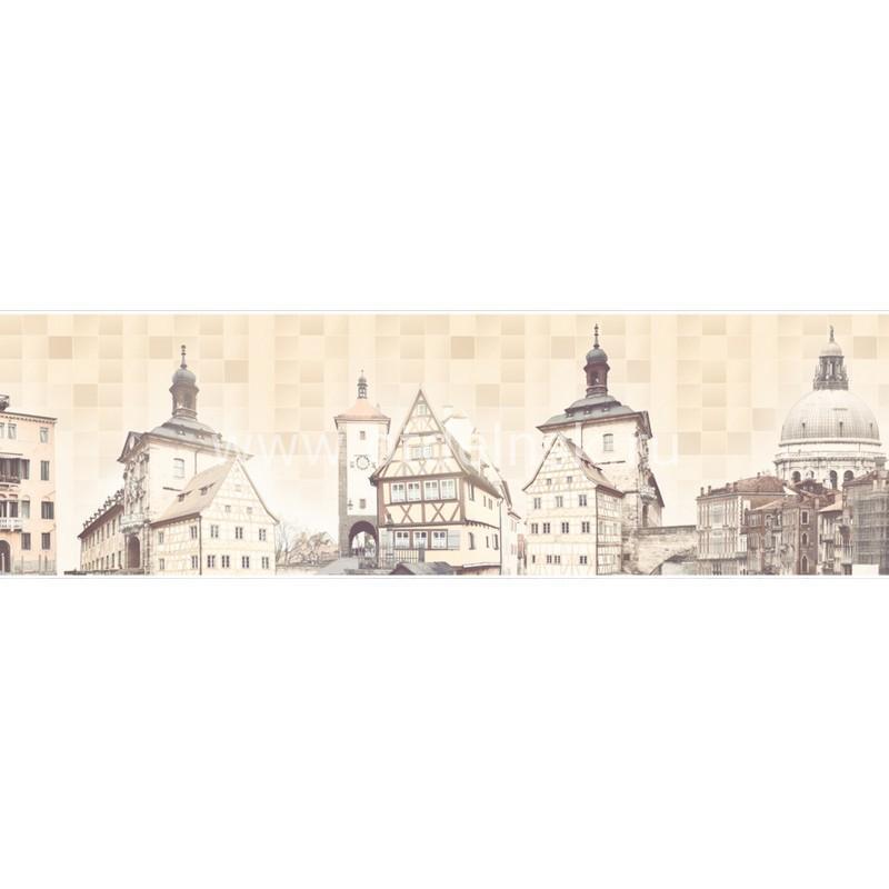 AG 95 Старый город. Фартук для кухни МДФ. 2440х610. Толщина 4 мм