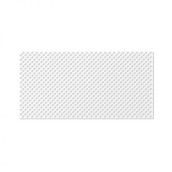 Готико Белый 600х1200 мм. Панель перфорированная