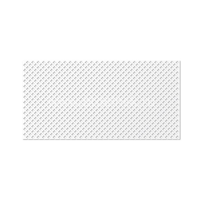 Готико Белый 600х1200 мм. Панель перфорированнаяГотико Белый 600х1200 мм. Панель перфорированная