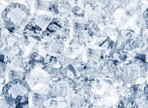 9256 Лёд. Фартук для кухни пластиковый. 3 метра