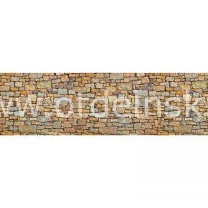 5387 Камень. Фартук для кухни пластиковый. 3 метра