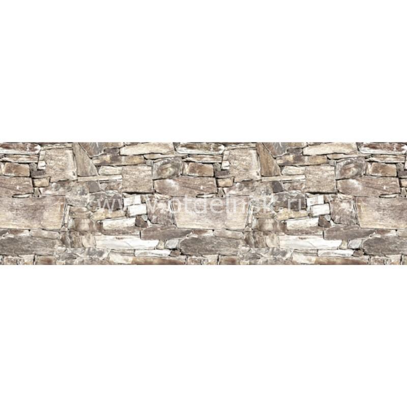 5393 Камень. Фартук для кухни пластиковый. 3 метра