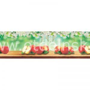 9167 Фрукты. Фартук для кухни пластиковый. 3 метра