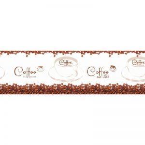 9204 Кофе, зёрна. Фартук для кухни пластиковый. 3 метра