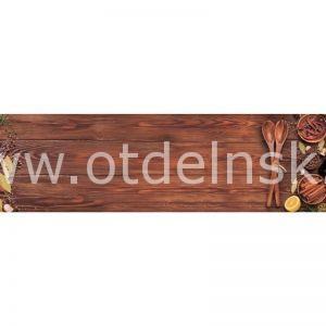 9208 Овощи. Фартук для кухни пластиковый. 3 метра