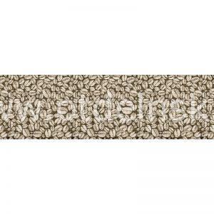 9245 Кофейные зёрна. Фартук для кухни пластиковый. 3 метра