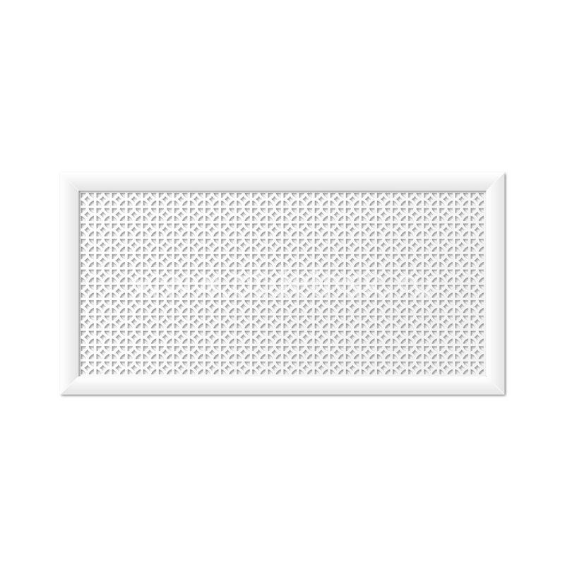 Сусанна Белый 600х1200 мм. Экран для радиаторов