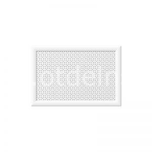 Сусанна Белый 600х900 мм. Экран для радиаторов