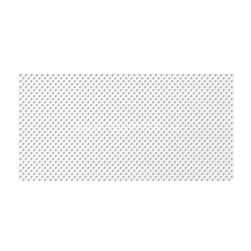 Глория Белый 600х1200 мм. Панель перфорированная
