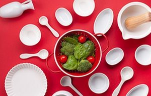 5273 Красная кухня. СА. Фартук для кухни пластиковый. 3 метра