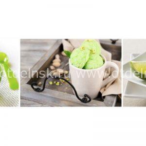 Фисташковое мороженое. СА. Фартук для кухни пластиковый. 3 метра