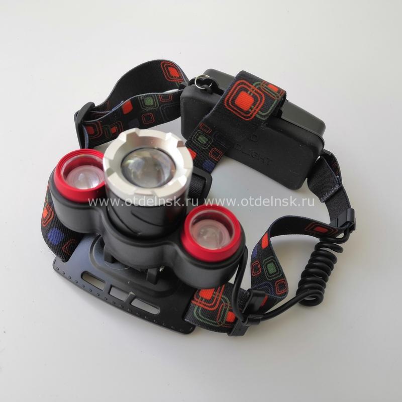 Налобный фонарь светодиодный XQ-117