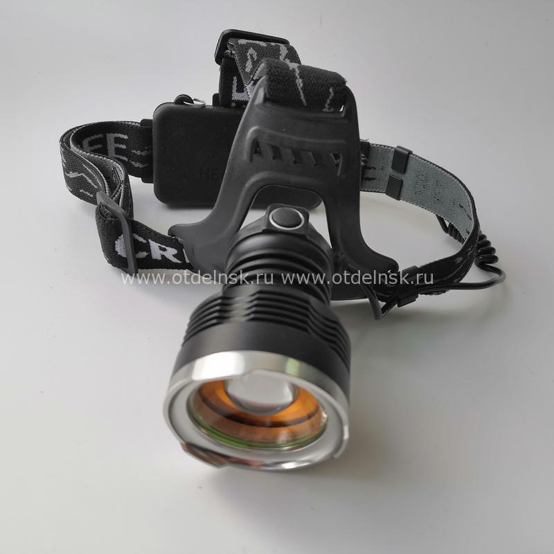 Налобный фонарь T619 Fessle