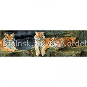 Фартук на основе ХДФ. 10488 Тигры.