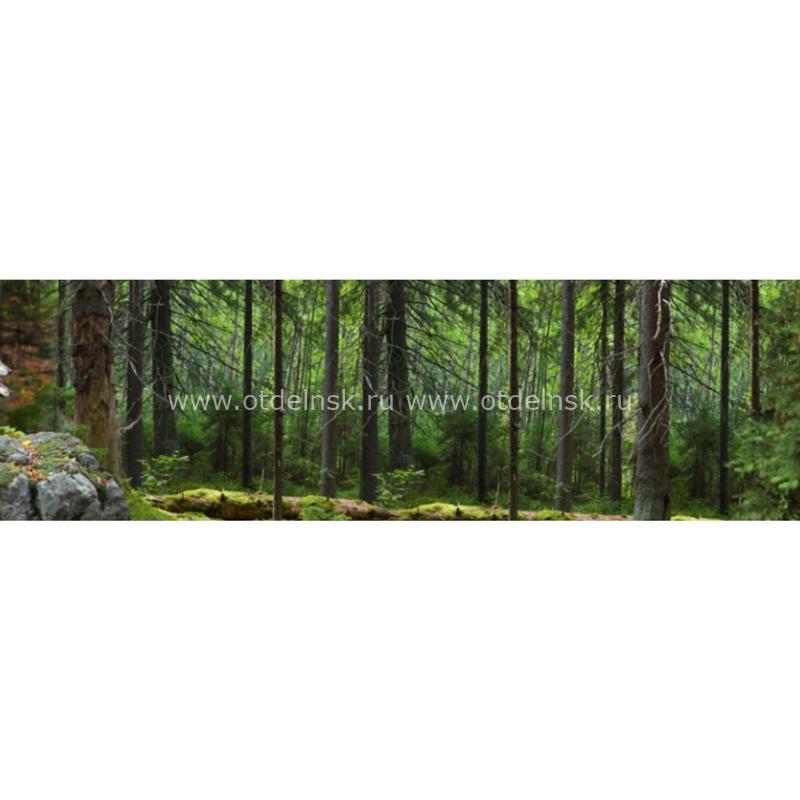 Фартук на основе ХДФ. 9707 Волки и лес.