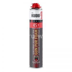 Монтажная всесезонная пистолетная пена KUDO FIRE PROOF 45+
