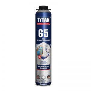 Пена монтажная профессиональная TYTAN 750 мл 65 л