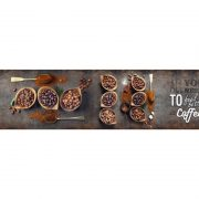7705 Кофе. Фартук для кухни пластиковый. 3 метра