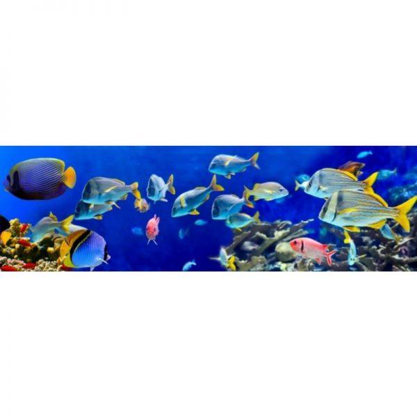 10980 Барьерный риф. Фартук для кухни пластиковый. 3 метра