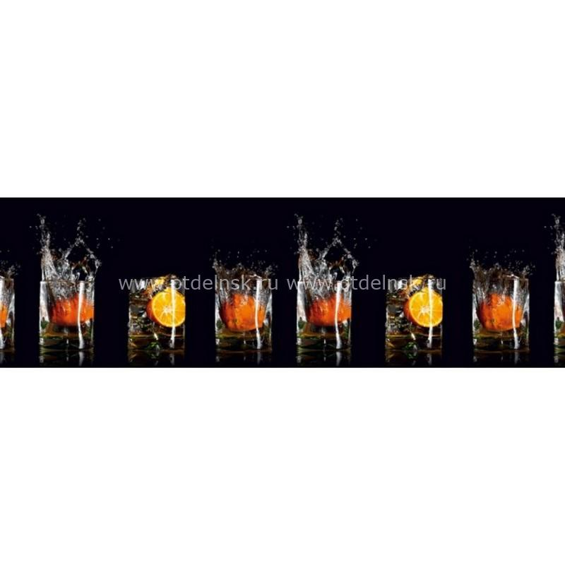 10999 Апельсины. Фартук для кухни пластиковый. 3 метра