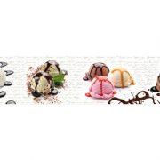 11000 Мороженое. Фартук для кухни пластиковый. 3 метра