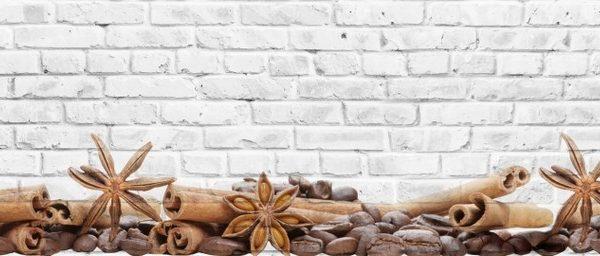 11017 Кирпич. Фартук для кухни пластиковый. 3 метра