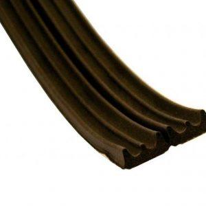 E - профиль коричневый