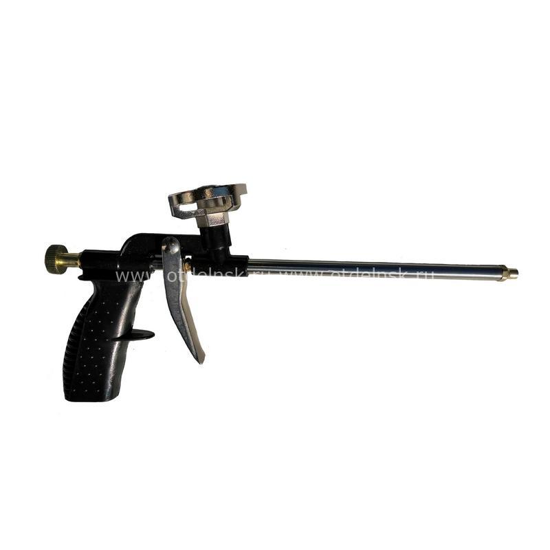 Пистолет для монтажной пены (черный) Облегченный