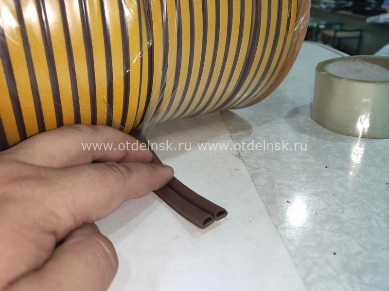 Уплотнитель для деревянных окон профиль D