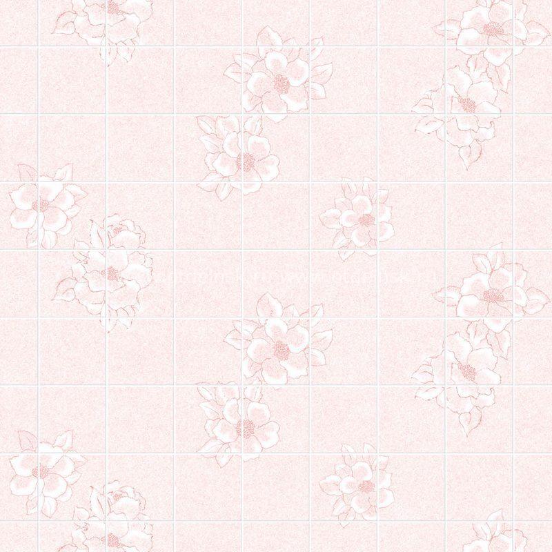 "Листовая панель МДФ 43317 ""Магнолия розовая 15х15 см"" 1220х2440х3 мм"