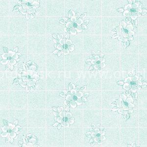 "Листовая панель МДФ 43324 ""Магнолия зеленая 15х15 см"" 1220х2440х3 мм"