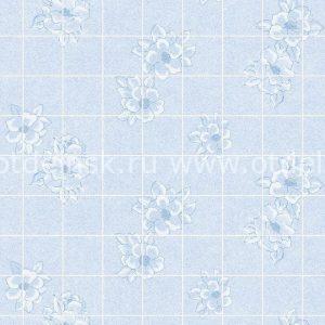 "Листовая панель МДФ 43331 ""Магнолия голубая 15х15 см"" 1220х2440х3 мм"